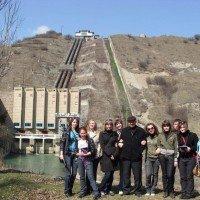 Баксанская ГЭС и горячие источники Кишпек